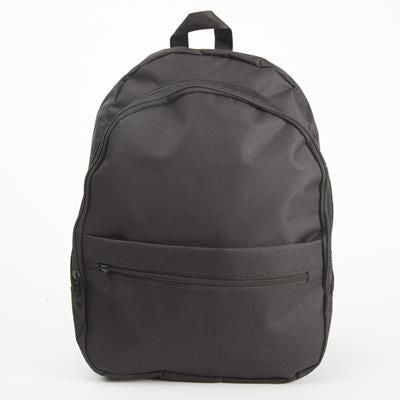 BACKPACK RUCKSACK with 2 Big Compartments & 3 External Pockets