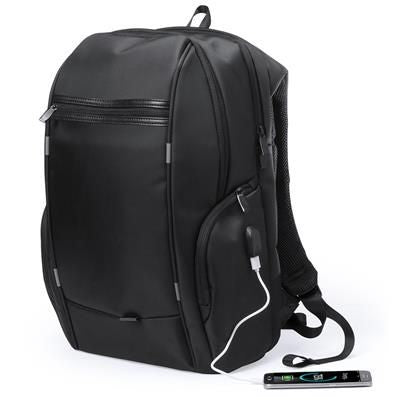BACKPACK RUCKSACK with USB Connection