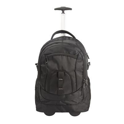 BACKPACK RUCKSACK TROLLEY with 6 Pockets & One Top Handle