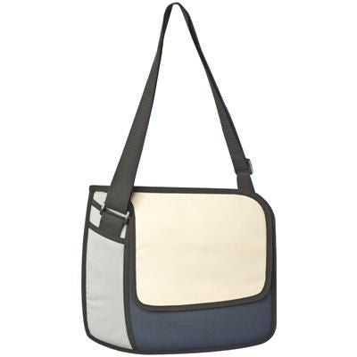 3D SMALL SHOULDER BAG in Dark Blue