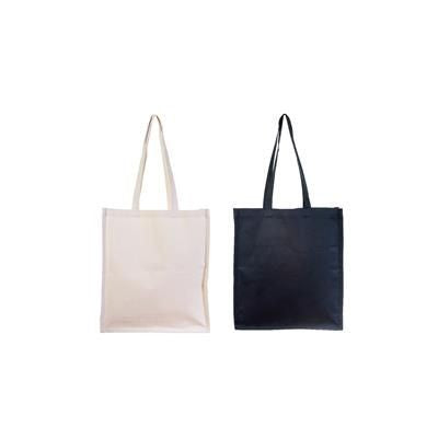 10OZ NATURAL COTTON SHOPPER with Gusset