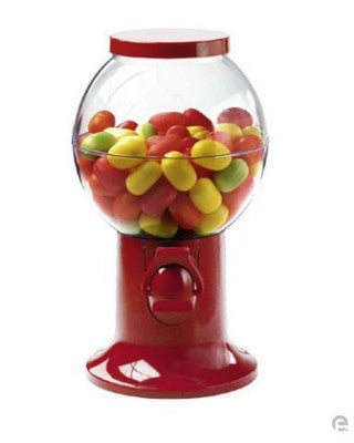 SWEETS DISPENSER in Red