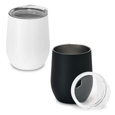 HYGGE DOUBLE-WALLED STAINLESS STEEL METAL TRAVEL CUP