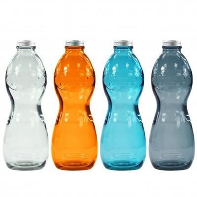 AQUA GLOUGLOU RECYCLED GLASS BOTTLE - 1 L