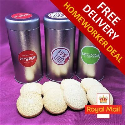 HOMEWORKER OFFER - TIN OF BISCUITS