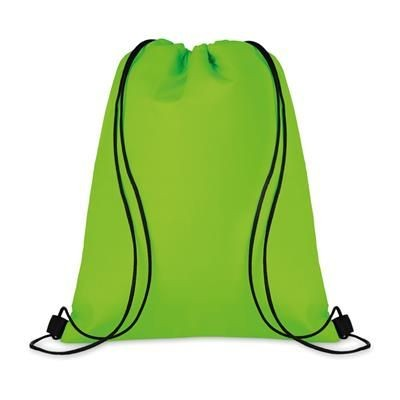 210D POLYESTER DRAWSTRING THERMAL INSULATED COOL BAG
