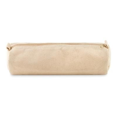 PENCIL CASE in Cotton 320 Gr-m² with Matching Colour Zipper & Puller