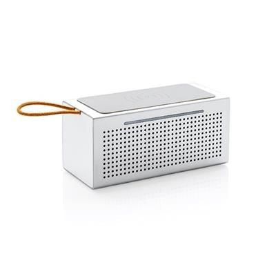 VIBE CORDLESS CHARGER SPEAKER in Grey