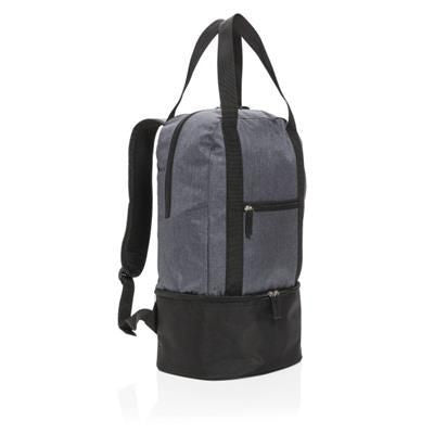 3-IN-1 COOLER BACKPACK RUCKSACK & TOTE in Grey