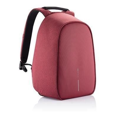 BOBBY HERO REGULAR ANTI-THEFT BACKPACK RUCKSACK in Red
