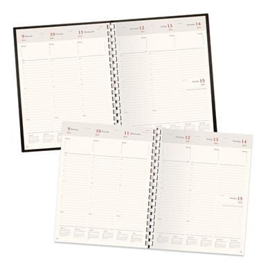 STATESMAN COMPACT A5 WEEK TO VIEW DESK SPIRAL DIARY INSERT