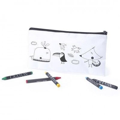 COLOUR IT YOURSELF PENCIL CASE