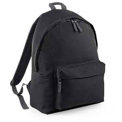 ADLINGTON 600D POLYESTER BACKPACK RUCKSACK in Black