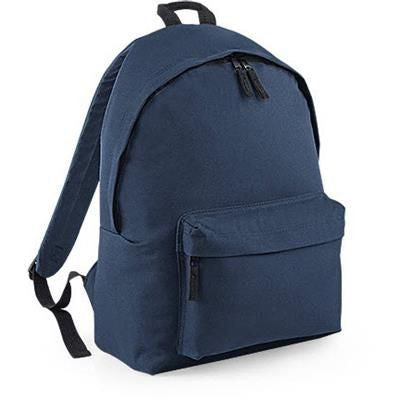 ADLINGTON 600D POLYESTER BACKPACK RUCKSACK in Navy Blue