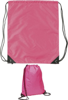 EYNSFORD DRAWSTRING BACKPACK RUCKSACK in Pink