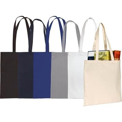 SANDGATE 7OZ COTTON CANVAS SHOPPER TOTE BAG