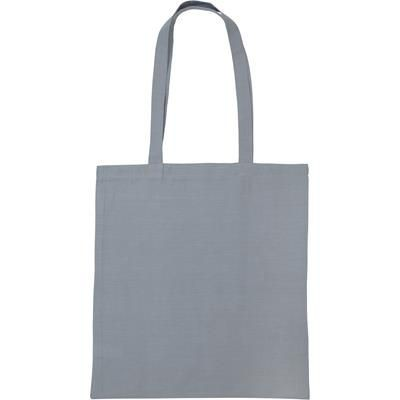 SNOWDOWN PREMIUM COTTON TOTE BAG in Grey