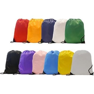 210D CHILDRENS BURTON POLYESTER GYMSACK DRAWSTRING BAG