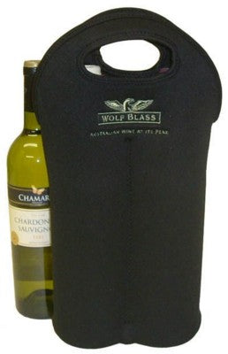 2 WINE BOTTLE NEOPRENE CARRY BAG