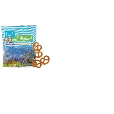 COMPOSTABLE BAG OF PRETZELS OR SNACK MIX
