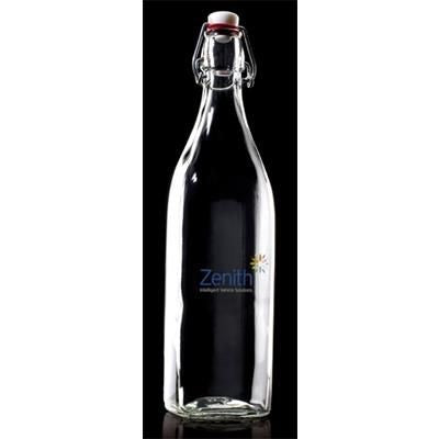 1L RE-USABLE GLASS BOTTLE