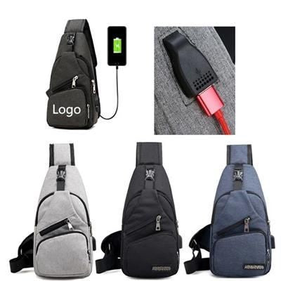 BACKPACK RUCKSACK with USB Port