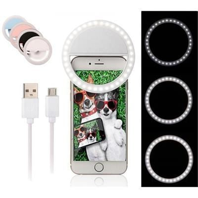 USB RECHARGEABLE SELFIE LIGHT RING