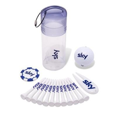 1 BALL GOLF DAY GIFT TUBE 4