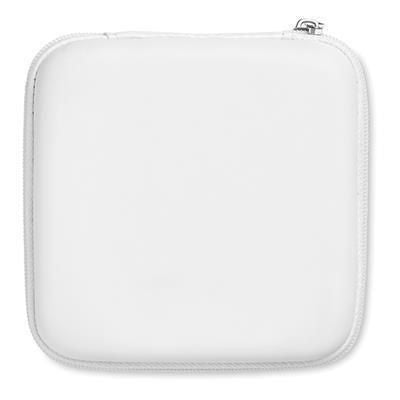 TRAVEL POUCH with Powerbank 5000 Mah in White