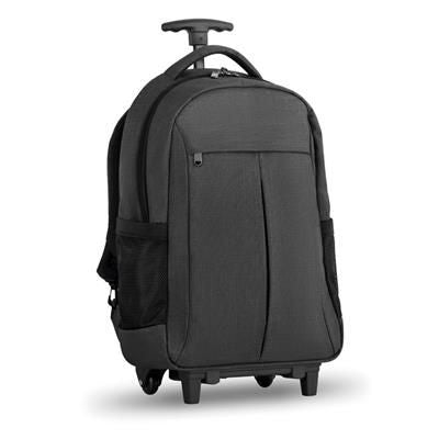 BACKPACK RUCKSACK TROLLEY in 360d 2 Tone Polyester