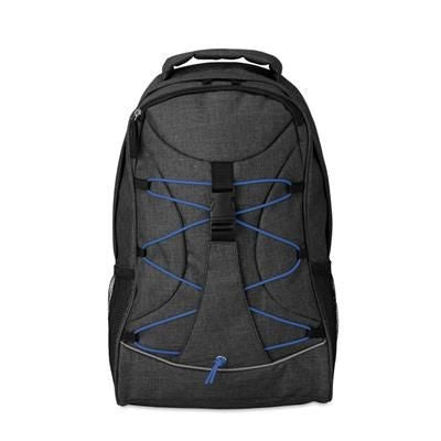 BACKPACK RUCKSACK in 600d 2 Tone Polyester