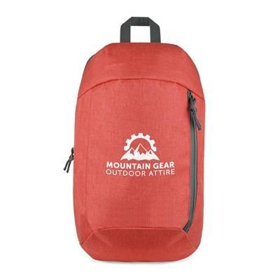ANDERSON BACKPACK RUCKSACK in Red