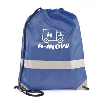 CELSIUS DRAWSTRING BAG in Blue