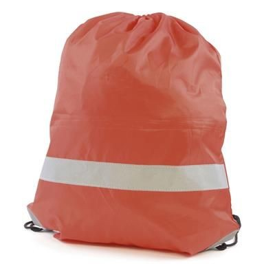 CELSIUS DRAWSTRING BAG in Red