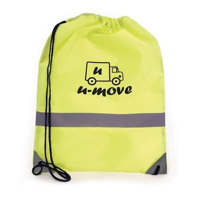 CELSIUS DRAWSTRING BAG in Yellow