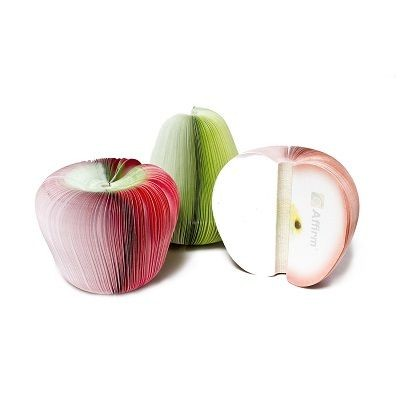 3D FRUIT SHAPE NOTE PAD