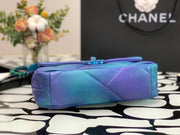 Chanel 19 Tie-Dye Mouth Cover Bag
