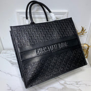 Dior All- Leather Book Totes