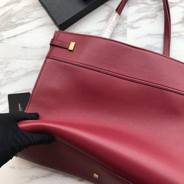 YSL Leather Notebook Bag