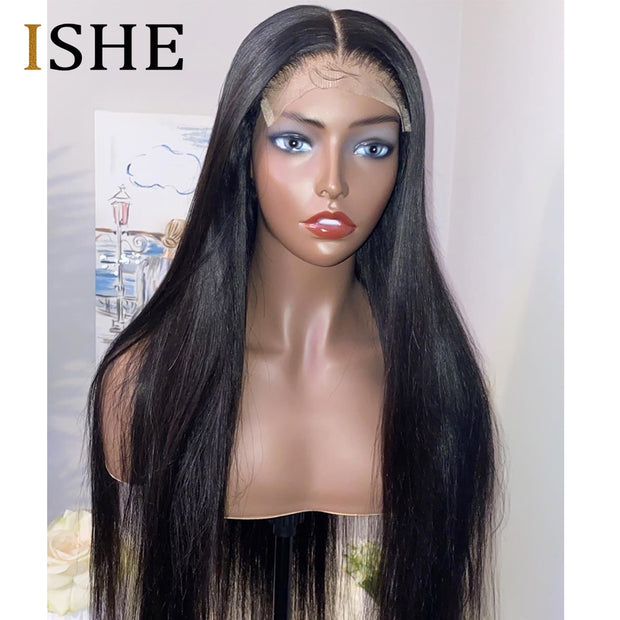 HD T Part Lace Human Hair Wigs