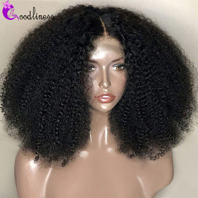 Mongolian Short Afro Kinky Curly Wig