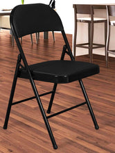 Load image into Gallery viewer, Folding Padded Metal Chair Story@Home