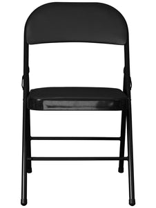 Folding Padded Metal Chair Story@Home
