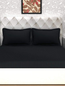Forever Cotton Fitted King BedSheet - 300TC Story@Home