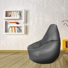 Load image into Gallery viewer, Leatherite Bean Bag Chair without beans, Story@Home