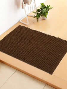 Luxor 1 Piece Popcorn Door or Bath Mat Story@Home
