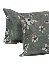 Load image into Gallery viewer, Majestic 152 TC Cotton Double Bedsheet, Grey Story@Home