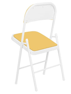 Padded Metal Cafe /Kitchen/ Garden and Outdoor Folding Chair Story@Home
