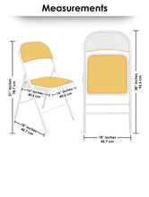 Load image into Gallery viewer, Padded Metal Cafe /Kitchen/ Garden and Outdoor Folding Chair Story@Home