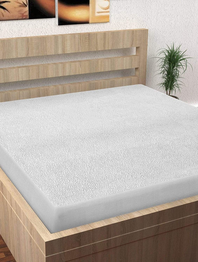 Premium Water Resistant Hypoallergenic Cotton Single Mattress (s) Guard Protectors' - 78